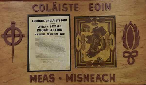 Stair an Choláiste / School History